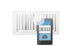 Barcode scanning using phone camera or bluetooth scanners